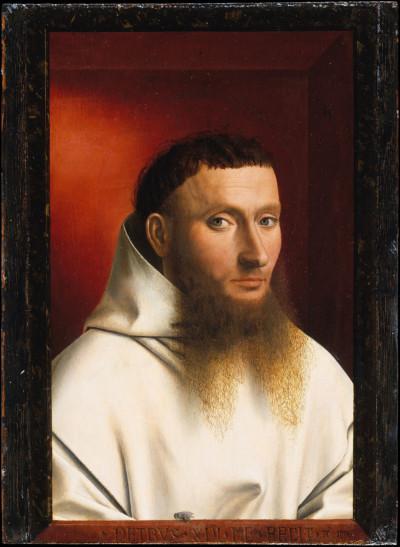 Retrato de un cartujo, Petrus Christus