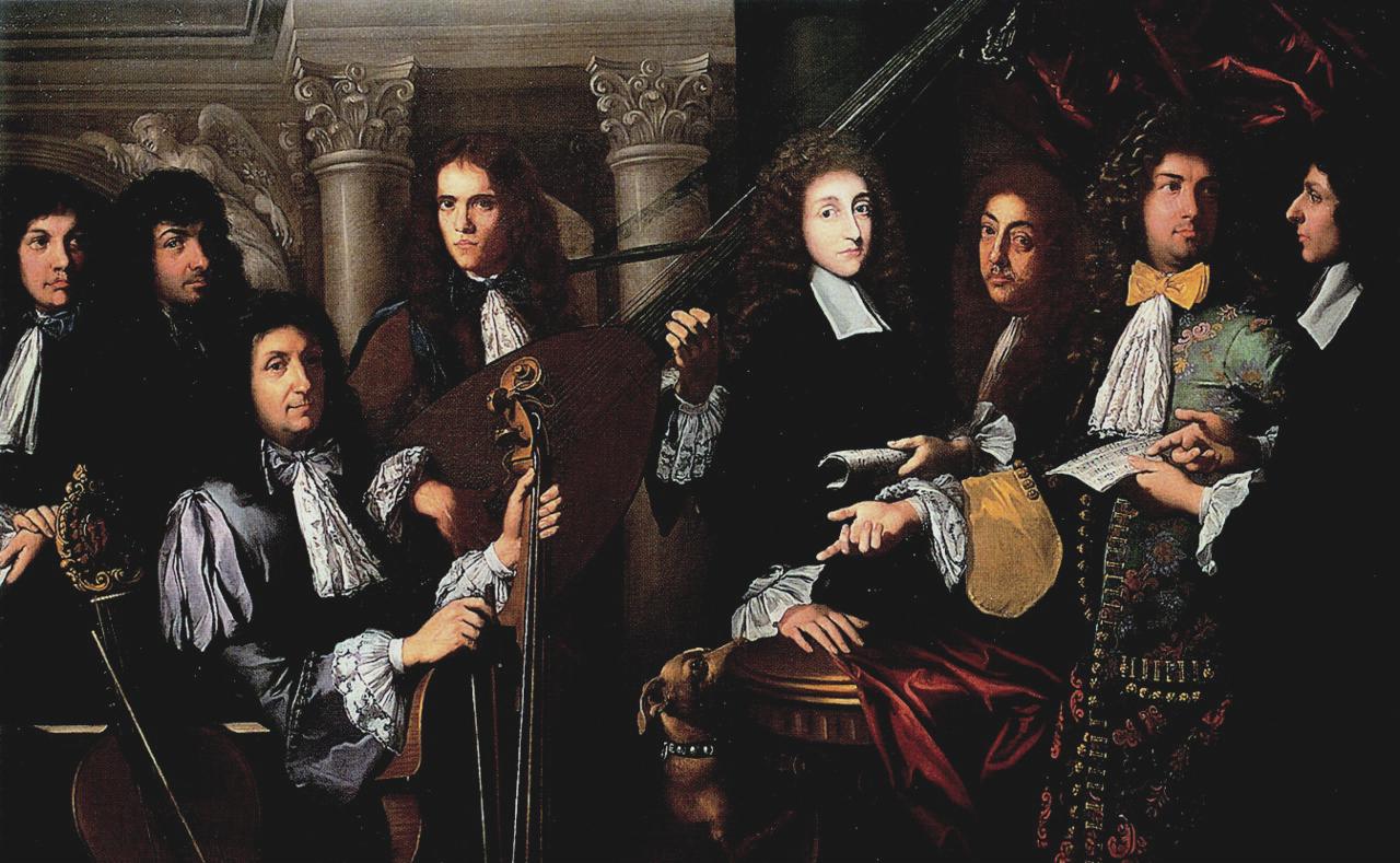 Il Principe Ferdinando de' Medici con i suoi musici - Gabbiani