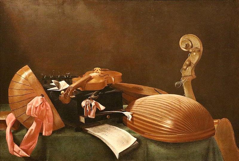 Instrumentos musicales - Evaristo Baschenis