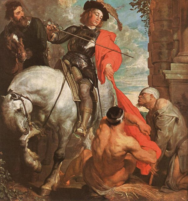 Anthony Van Dyck - St. Martin and the Beggar