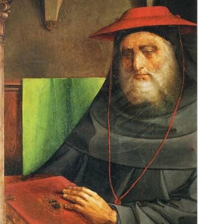 Cardinal Bessarion - Justus van Gent
