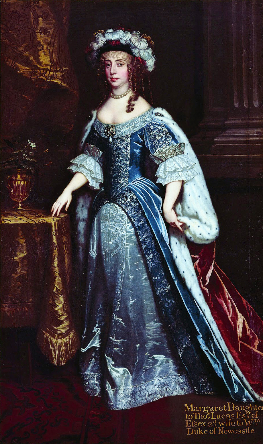 Margaret Cavendish, Duchess of Newcastle, by Peter Lely