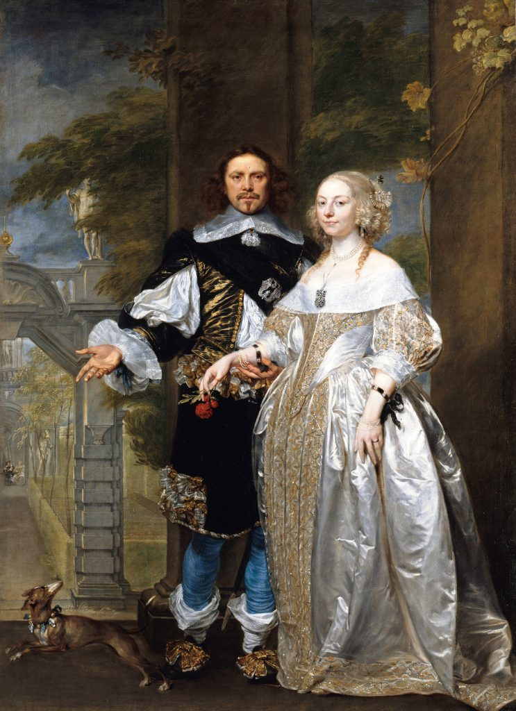 Margaret and William Cavendish by Gonzales Coques
