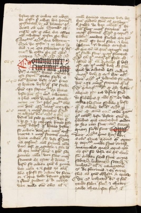 Quaestiones parvorum librorum naturalium - St. Gallen, Stiftsbibliothek, Cod. Sang. 775