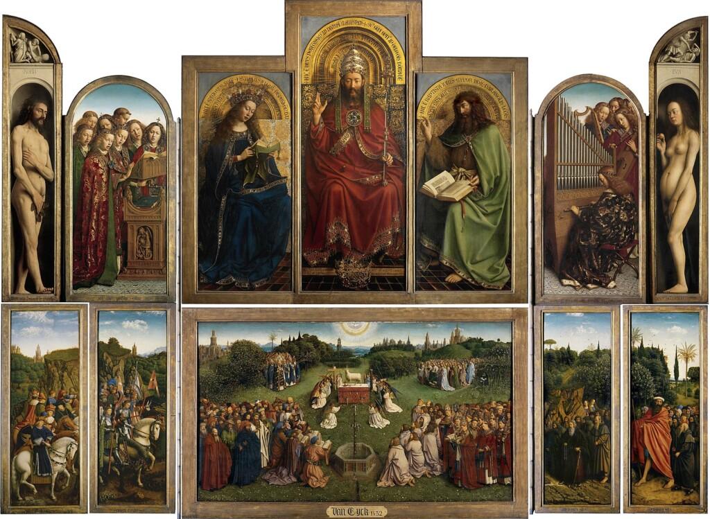 Altar de Gante - Hubert y Jan van Eyck