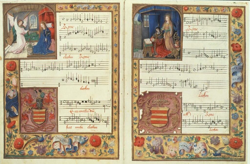 Ecce ancilla Domini - Ockeghem - Chigi codex