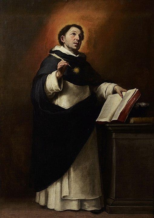 Santo Tomás de Aquino - Bartolomé Esteban Murillo
