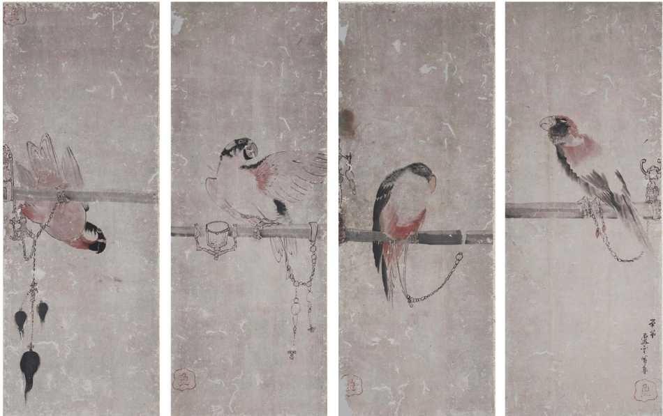 Parrots - Rosetsu