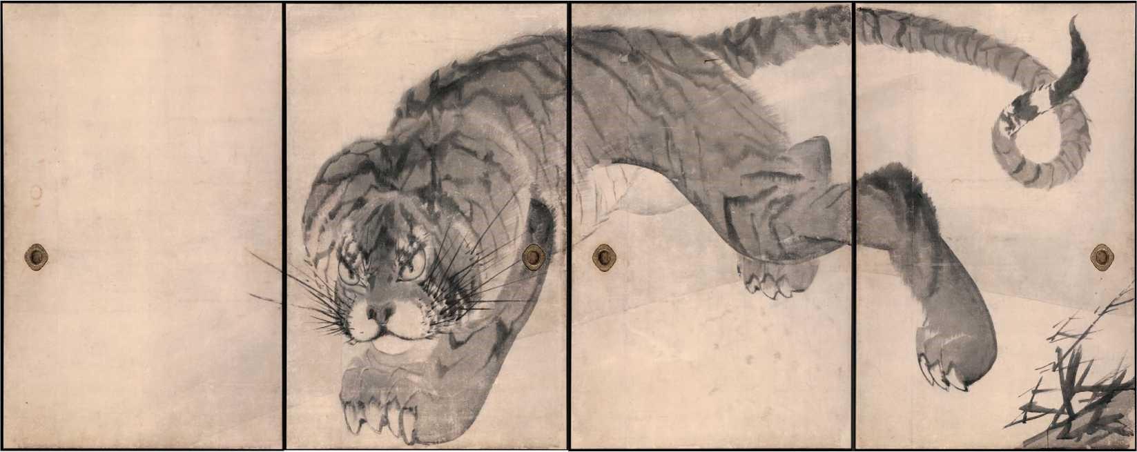 Tiger - Rosetsu