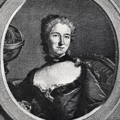 Emilie du Chatelet engraving