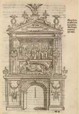 Arco triunfal de la ciudad - Pieter Coecke van Aelst