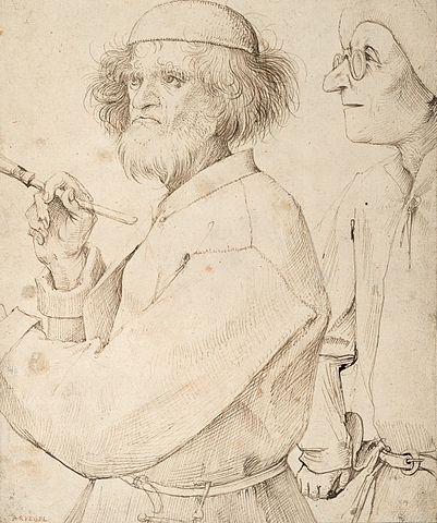 El pintor y el aficionado - Pieter Brueghel el Viejo