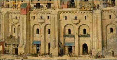 Fig. 1a - detalle Torre de Babel